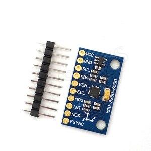 Image 2 - SPI/IIC GY 9250 MPU 9250 MPU 9250 9 axes Attitude + gyroscope + accélérateur + magnétomètre capteur Module MPU9250