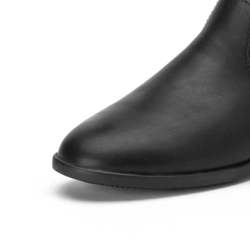 Balabala Mädchen PU Leder Fleece-Gefüttert Glittery Hohe Fly-Stricken Socke Stiefel für Teenager Mädchen Zip Verschluss zu seite Erhöhten Ferse