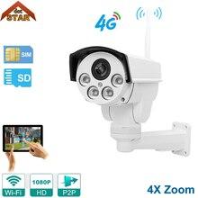 Stardot WIFI 4G IP Camera Waterproof HD 1080P IR 50M 4X Zoom Bullet Wifi Outdoor IP67 Wireless IR-Cut