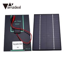 amzdeal 18V Solar Battery Power Charging Panel Charger Controller Motorbike Boat Outdoor Travelling Powerbank DIY Cell Module