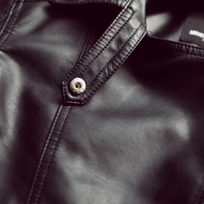 Kobieta 2019 nowy projekt wiosna skóra ekologiczna na jesień kurtka Faux miękki płaszcz skórzany slim, czarny z nitami z zamkiem błyskawicznym motocyklowe różowe kurtki