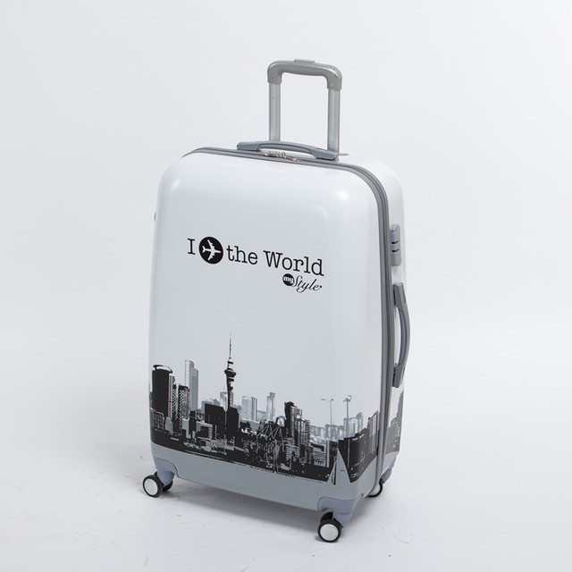 0ddc31c19 Wholesale!male and female 24 inch pc the world travel luggage bags on universal  wheels