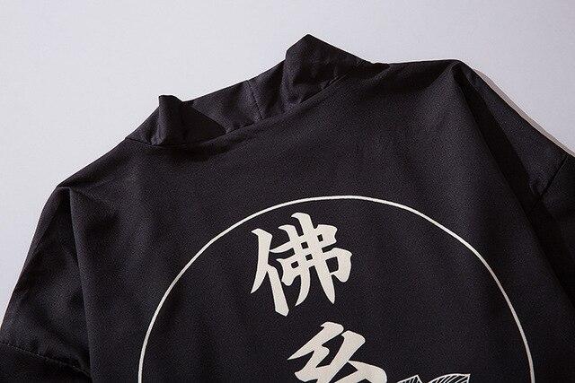 Japońskie kimono męski kardigan koszula bluzka yukata mężczyźni haori obi odzież samuraj odzież męskie kimono cardigan