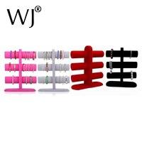 Mannequin Velvet Bracelet Watch Display Shelf Wooden Rack 3 Layers T Bar Bangle Holder Bracelet Showing Stand Chain Organizer