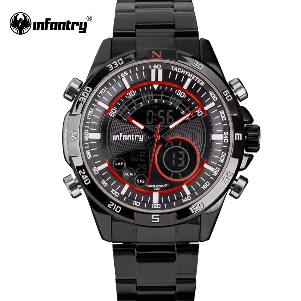 INFANTERÍA Reloj de pulsera para hombre de primeras marcas de - Relojes para hombres