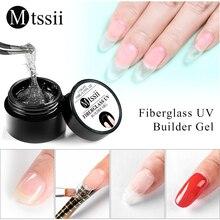 Mtssii 15ml Fiber Gel Polish Fiberglass Extension Building U