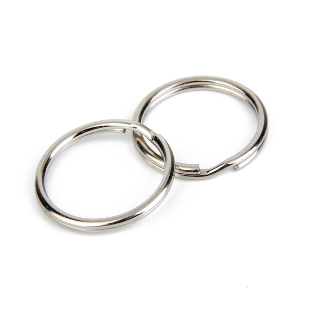 Split Key Rings 1.5 x 20mm 100pcs Silver 2016 Newest Arrival ee