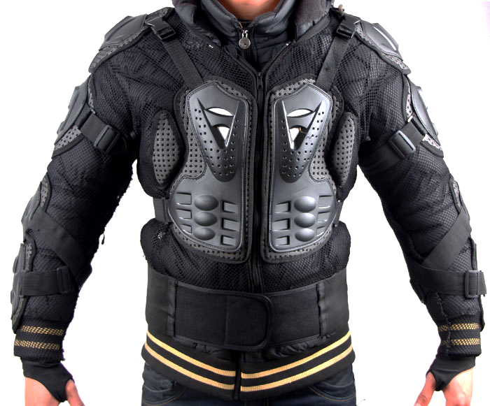 Мотоциклетная Броня черепаха куртки мото всего тела позвоночника Грудь Защитное снаряжение Куртка Размер M, L, XL, XXL, XXXL