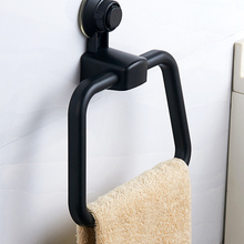 Towel-Ring Suction-Cup Bathroom Storage-Shelf Punch-Free No-Trace Kitchen Klx-Vacuum