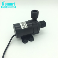 BringSmart Free Shipping 12V Booster Pump 500L/H 3.5M 24V 5M DC Brushless Water Pump Fountain Pump