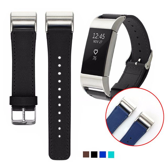 Aliexpress com : Buy 4 Colors Genuine Leather Watchband Belt Retro Fashion  Replacement Wrist Strap For/Fitbit Charge 2 Smart Bracelet Accessories from
