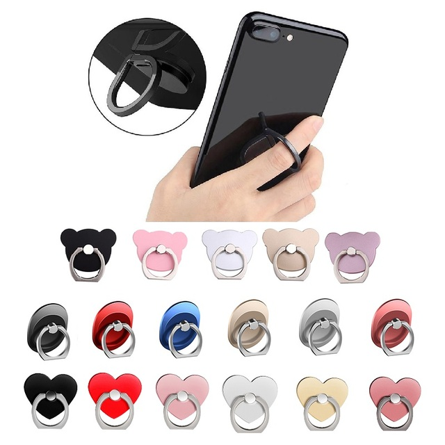 Finger Ring Mobile Phone Smartphone Stand Holder For Xiaomi Smart Phone Mount Stand Holder Accessories for Mobile Phone