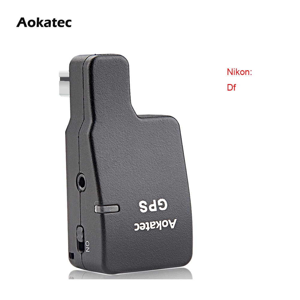 Free Shipping New Version!!! Module Aokatec AK-Gf Wireless GPS Receiver for Nikon Df DSLR Camera with Stable Perform new version aokatec ak g9 gps receiver wireless for nikon dslr camera d90