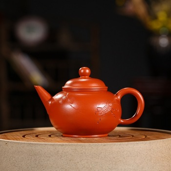 Manufacturer sales yixing wrinkled skin zhu mud level recommended all hand pot of tea set gift mixed batch