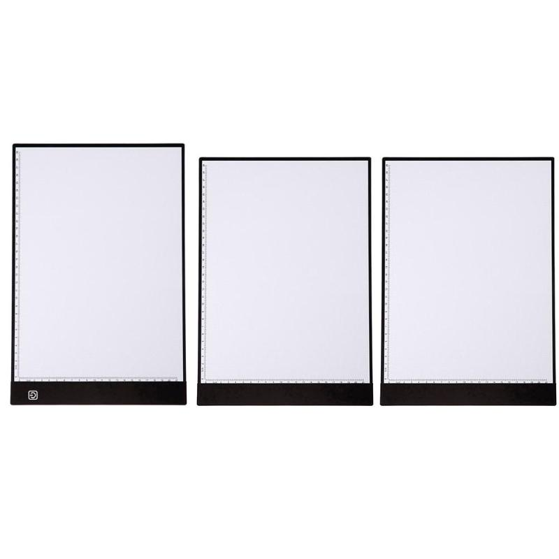 LED Drawing Board Ultra A4 Drawing Table Tablet Light Tracing Pad Sketch Book Blank Canvas for Painting Acrylic Drawing Toys drawing