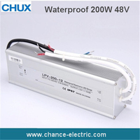 48V LED Water Proof Type driver switching mode Power Supply SMPS 200w (LPV 200W 48V)