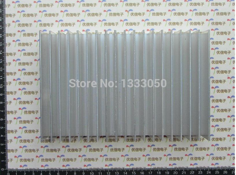 Free Shipping Aluminum Heat Sink 180*44.5*120MM Electrical Accessories free shipping 20pcs aluminum heat sink 25 x 25 x 10mm electrical accessories