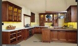 Модульный деревянный кухонный шкаф diy (LH-SW042)