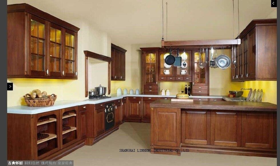 modular diy wooden kitchen cabinet(LH SW042)
