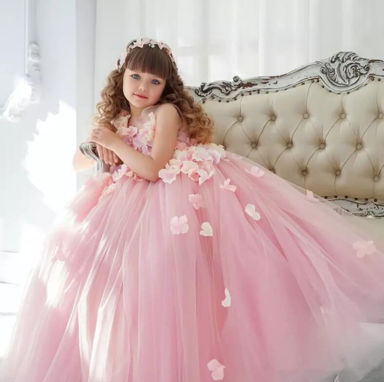 Pretty Fashion Beautiful Womens Floral Flower Scarf Shawl: Princess Beautiful Dresses 2018 New Flower Girls Dresses