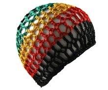 Rasta crochet Kufi hat Hair Net women sleeping  cap