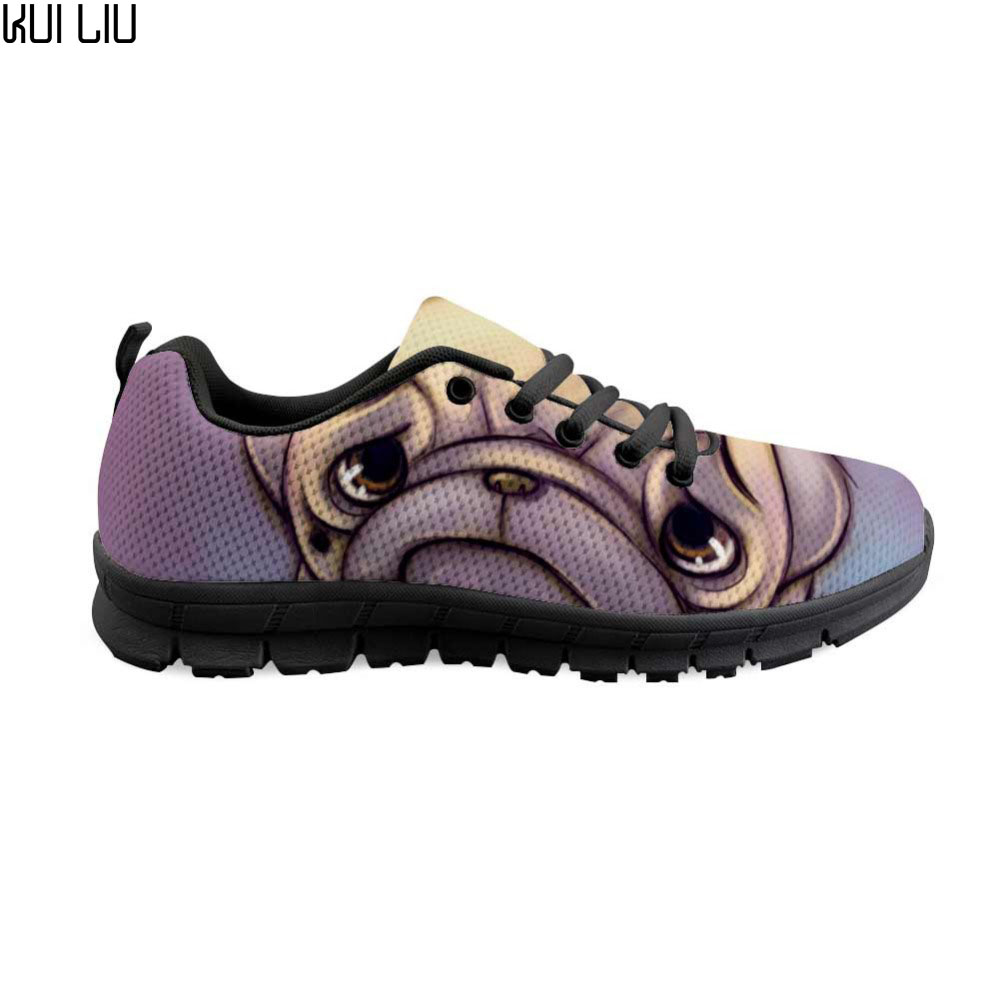 Women's Running Shoes Cute French Bulldog Sneakers Women Outdoor Female Girl Sports Shoes zapatillas mujer fashion shoes 2019