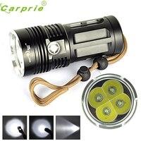 Супер высокой мощности 7000 lm 4T6 4x CREE xm-l T6 светодиодный фонарик факел лампы 3 режима 18650 170129