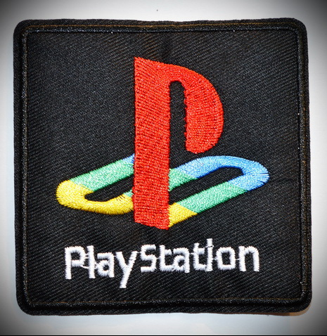 Us 15 86 5 Off Japan Playstation 1 2 3 4 Video Game Logo Embroidered Iron On Patch In Patches From Home Garden On Aliexpress 11 11 Double