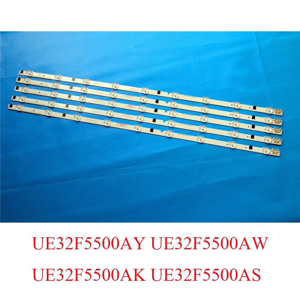 5 Piece LED Backlight Strip For Samsung UE32F5500AY UE32F5500AW UE32F5500AK UE32F5500AS TV LED Bars Replacement Backlight Strips