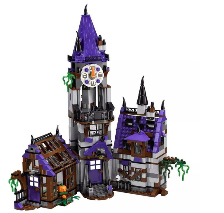 2017 New Scooby Doo Mystery Mansion Model Building Blocks DIY Bricks Toys gift For Children Compatible with Lepin 75904 new lepin 16009 1151pcs queen anne s revenge pirates of the caribbean building blocks set compatible legoed with 4195 children