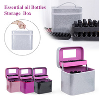 60+45 Bottles Essential Oil Storage Box 15ML Perfume Essential Oil Box Travel Portable Carrying Holder Nail Polish Storage Bag|Storage Boxes & Bins| |  -