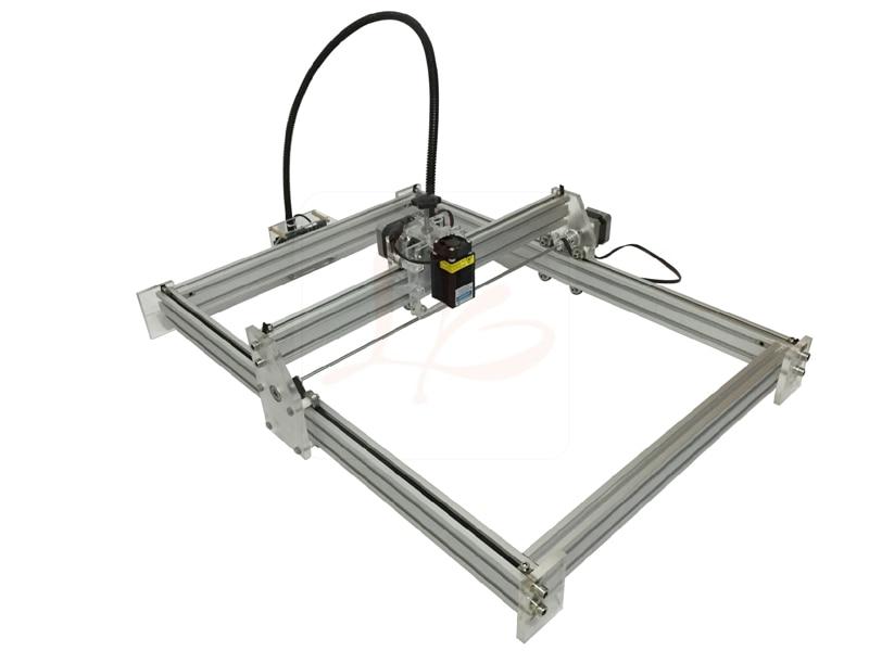 2500mw Laser CNC Machine Mini DIY Laser engraving machine carving size 35*50cm , Russia free tax кристи а десять негритят