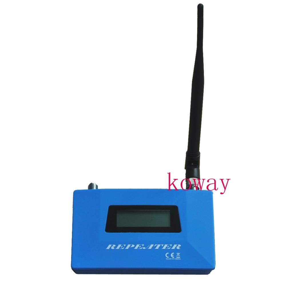 Pantalla LCD del teléfono móvil GSM repetidor de señal GSM 900 MHz amplificador de señal de teléfono celular GSM amplificador de señal con antena de interior