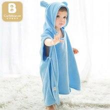Детский банный халат с капюшоном; Банное полотенце; детское Флисовое одеяло для новорожденных