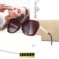 Fashion Polarized Sunglasses Ladies Big Box Polaroid Lens Luxury Brand Designer Ladies Glasses 2019 Summer New Style