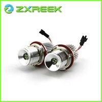 ZXREEK 20W 360 Degree LED Angel Eye Halo Ring Light Bulb Headlight Marker For BMW E39
