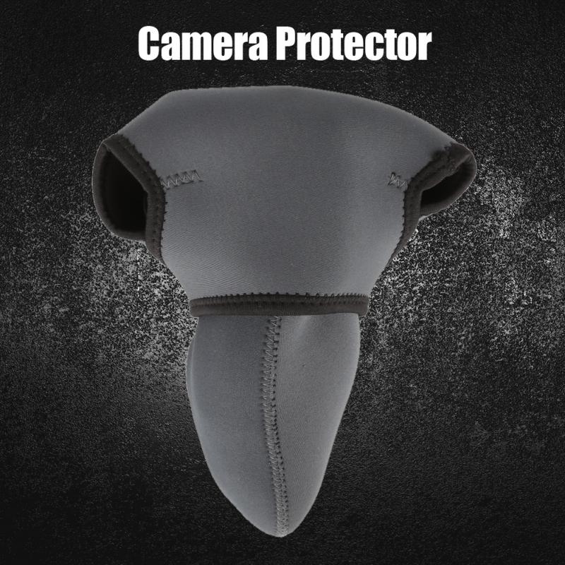 3 Sizes DSLR Camera Protector Protective Soft Case Bag Outdoor Photography Accessories Grey