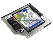 for Asus S46 K46 A46 X450 S46 K46CM Laptop 2nd 1TB 2.5 Inch HDD SATA 3 Second Hard Disk DVD Drive Optical Bay Replacement Case