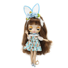 Neo Blythe Doll Dress With Hair Ban