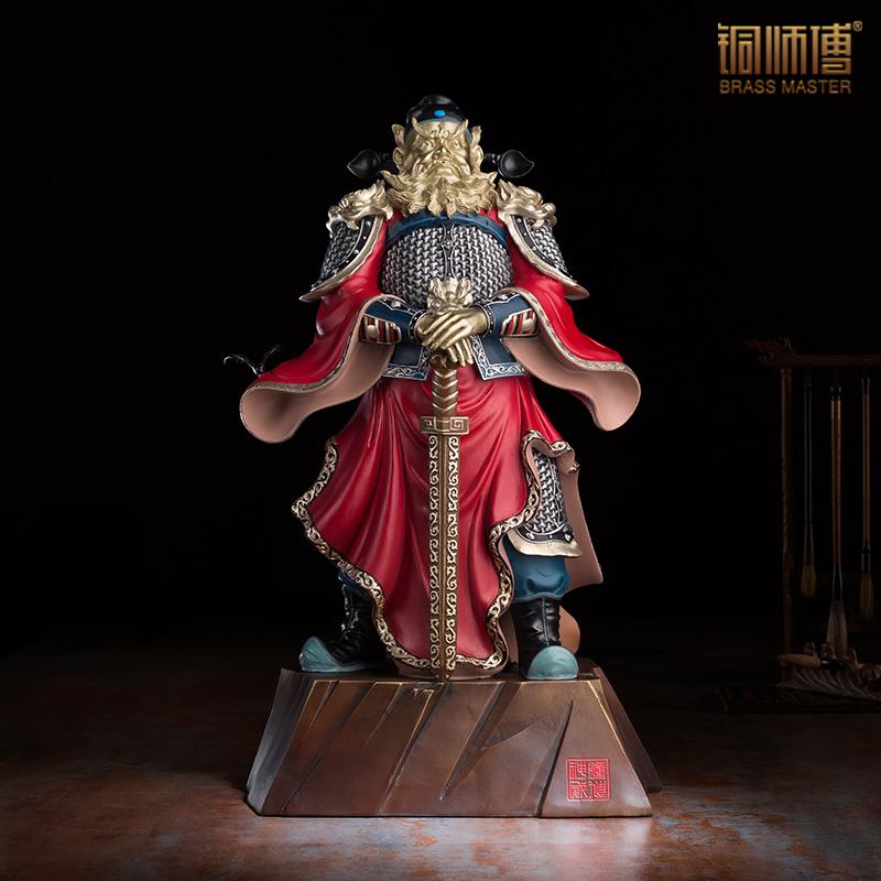 chinesische alte berhmte charakter skulptur kupfer handwerk handwerk sammeln wohnzimmer dekorationchina - Moderne Skulpturen Wohnzimmer