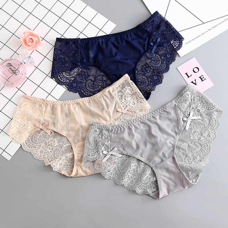 12998b24701a Detail Feedback Questions about Gumprun Ice Silk Panties Sexy Seamless Lace  Panties Hollow Out Underwear Women Flower Printing Lingerie Low Waist Cozy  ...