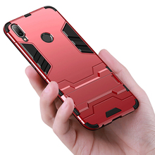 купить 360 Full Stand Armor Case For Xiaomi Redmi Note 7 6 Pro 5 Hybrid Silicone TPU PC Back Cover For Redmi 6 6A S2 5 Plus Phone Case дешево