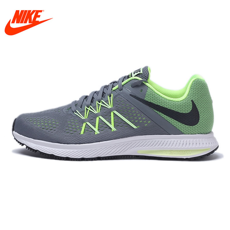 Original NIKE New Arrival Spring ZOOM WINFLO 3 Men's Running Shoes Sneakers Breathable classic nike nike zoom winflo 2