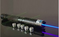HOT! High power mw Blue laser pointer 1000000m 450nm SOS Lazer Flashlight Burning match/Burn light cigars/candle/black Hunting