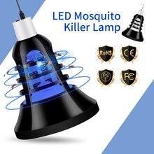 E27 Led Mosquito Killer Lamp Elektrik Insect Trap Light Bulb 220V Anti For Outdoor Camping Sleeping Night