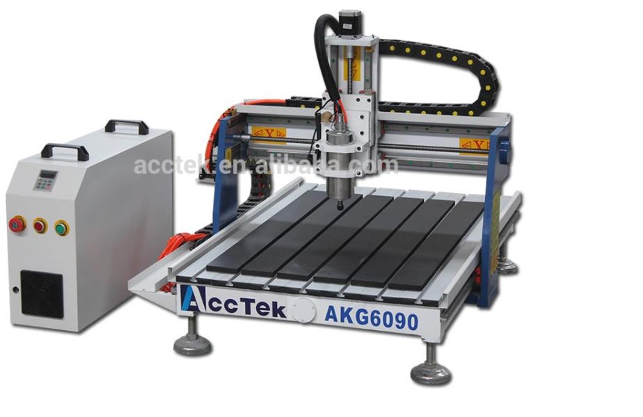 AKG6090 China Cheap Mini Size Cnc Router 60 90 For Advertising And Woodworking