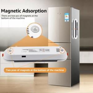 Image 5 - ANIMORE 食品真空シーラー食品セーバー 220 V/110 220v の家庭用真空シーラー 10 個真空バッグ送料シール機