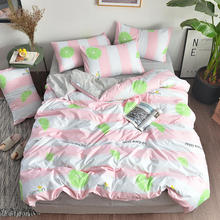 купить New arrival hot sale 4PCS Bedding Set bedsheet home textile bed set 4 size twin queen king Full for kids and Adult free shipping дешево