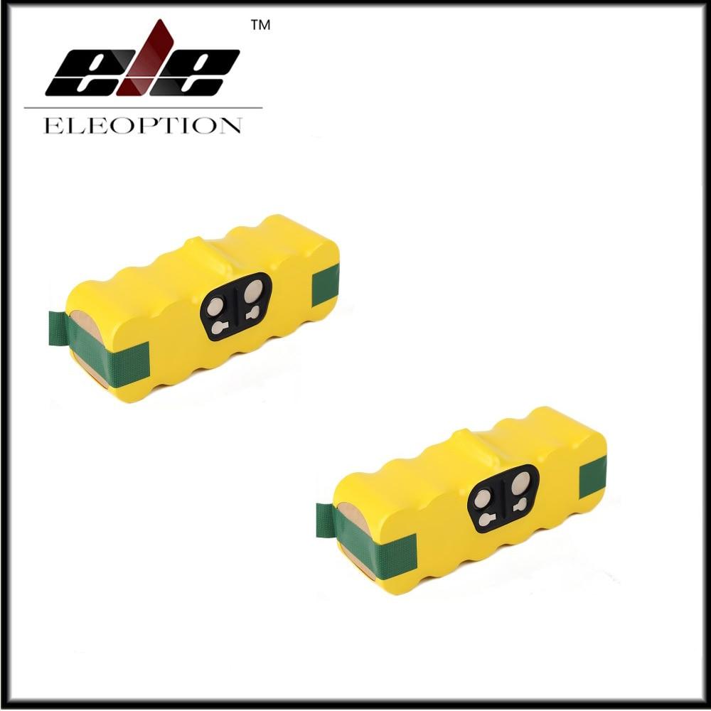 2pcs 4.0Ah 4000mah Vacuum Battery for iRobot Roomba 500 560 530 510 562 550 570 581 610 650 790 780 532 760 770 battery Robotics