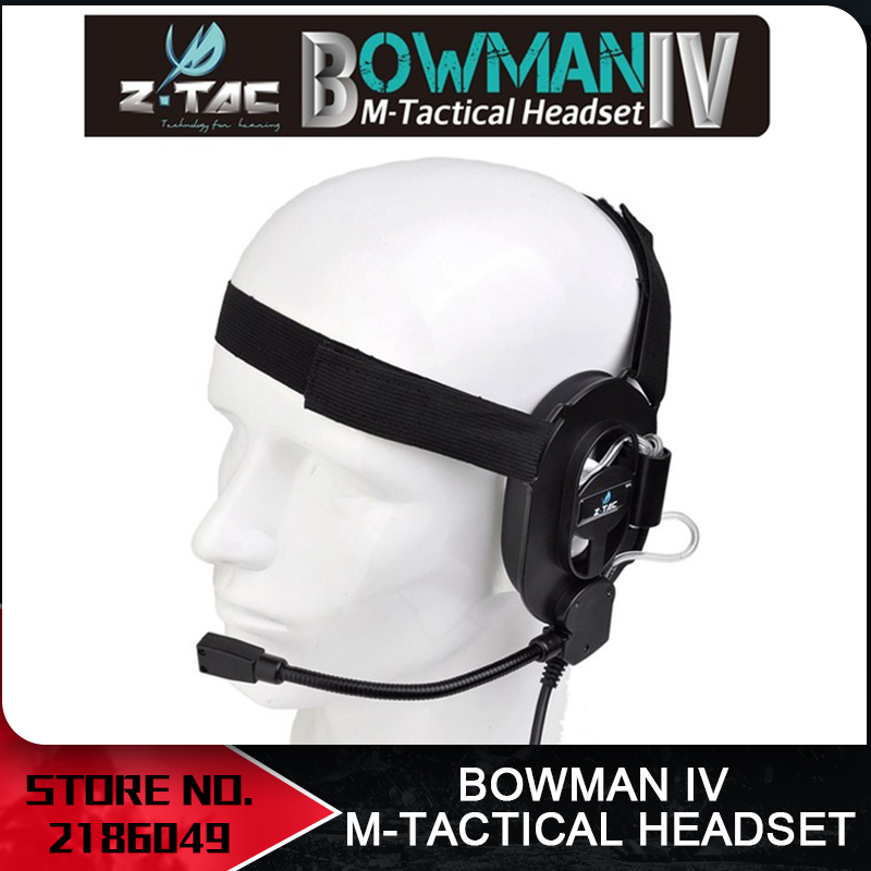 Airsoft Element Z Tactical Military Kopfhörer Bowman IV M Headset - Jagd